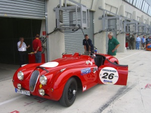 CIMG1301.JPG Jaguar XK 120, Wolfgang Kurth